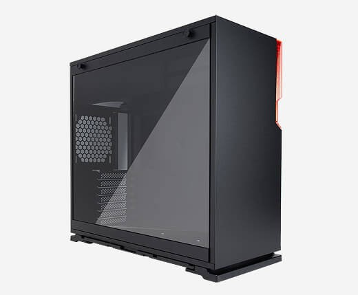 InWin 101 Black ATX Mid Tower Gaming Computer Case with Tempered Glass