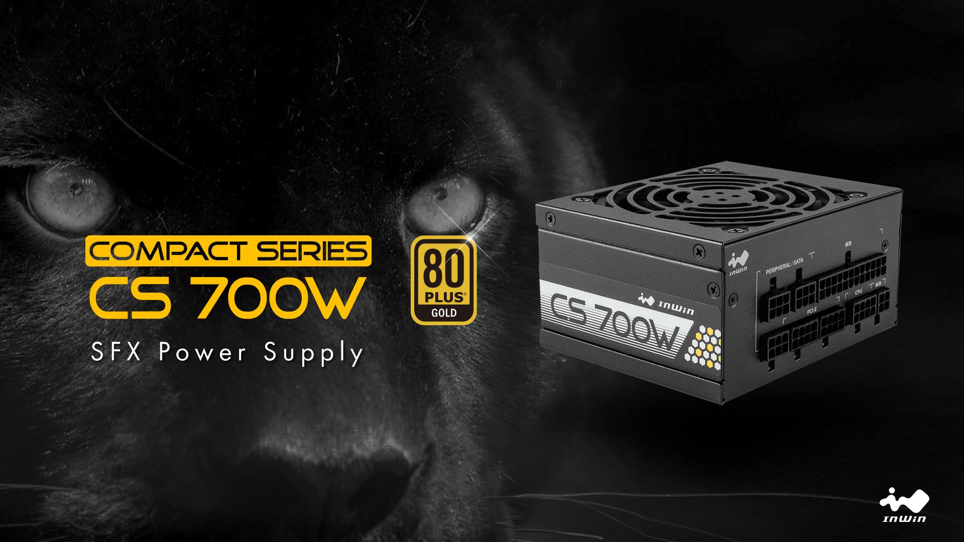 InWin Announces new Compact Series (CS) 700W SFX PSU