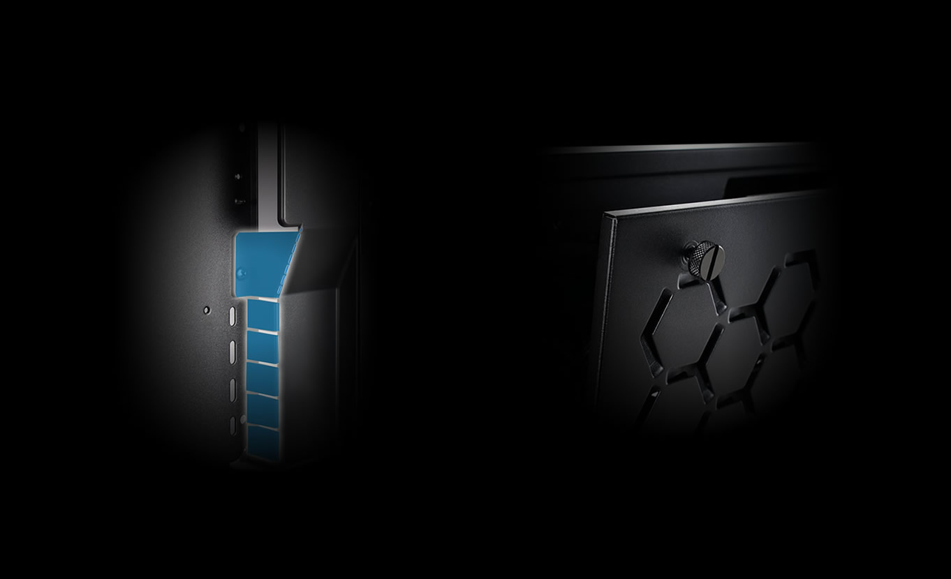 In-Win 301 Black - Full Side Tempered Glass Mid-Tower Case 4