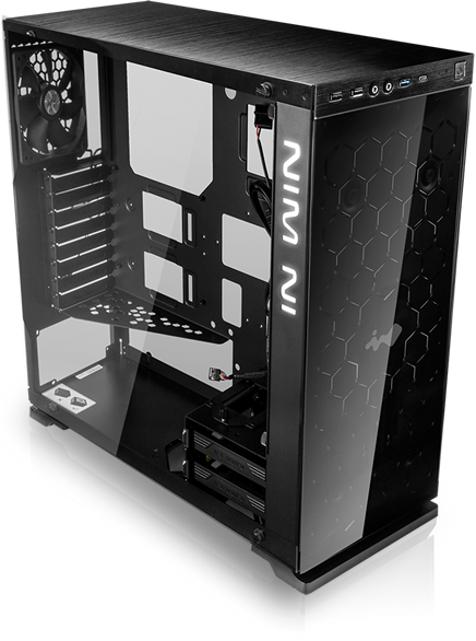 In-Win 805 Red/Black Type C - Aluminium & Tempered Glass Mid-Tower Case 15