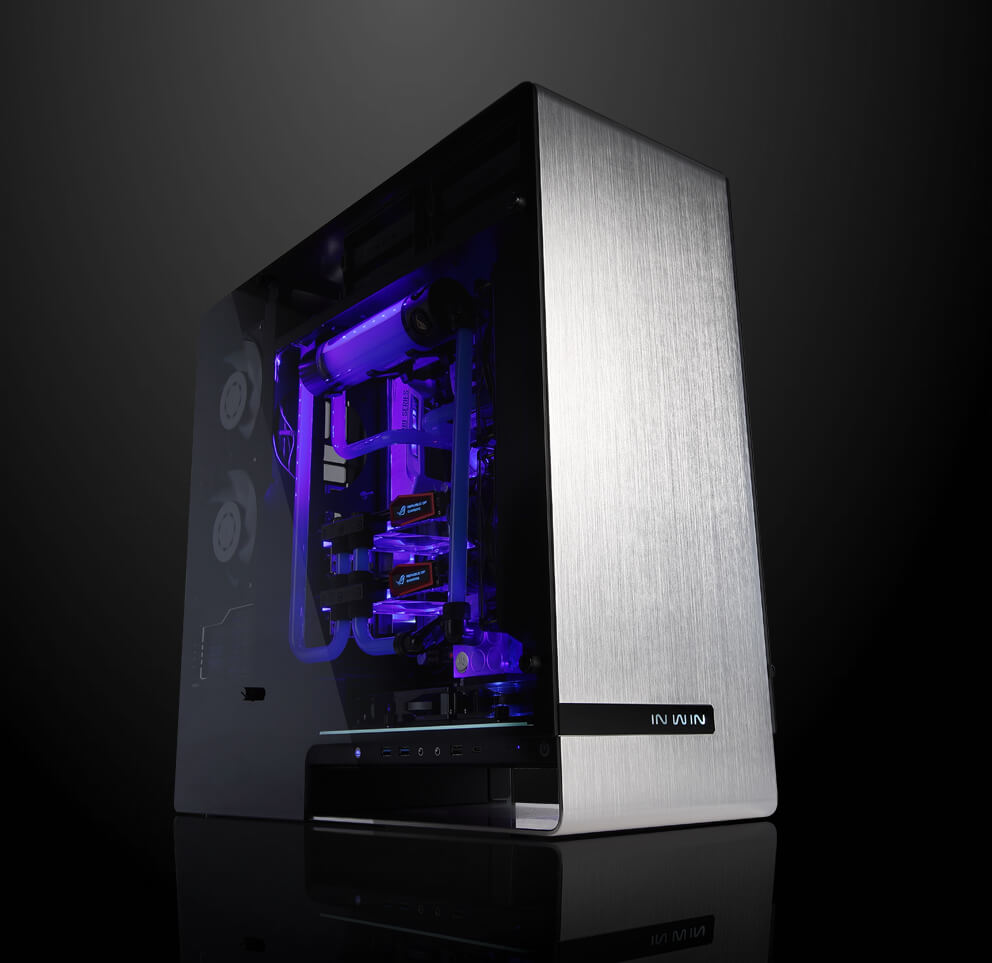 Inwin 909 Inside A Computer Tower Parts For Pinterest Tempered Glass Side Panels