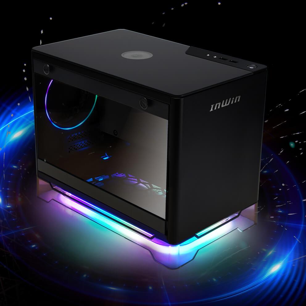 IN WIN A1 Black Bo/îtier pour PC Noir
